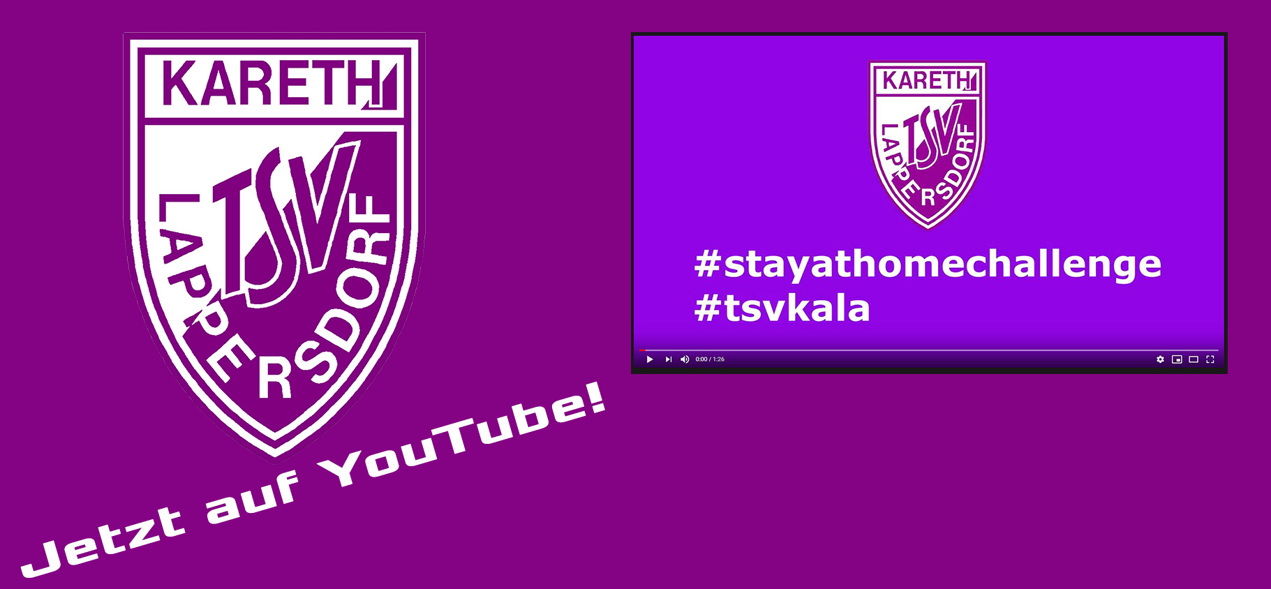#stayathomechallenge des TSV Kareth-Lappersdorf